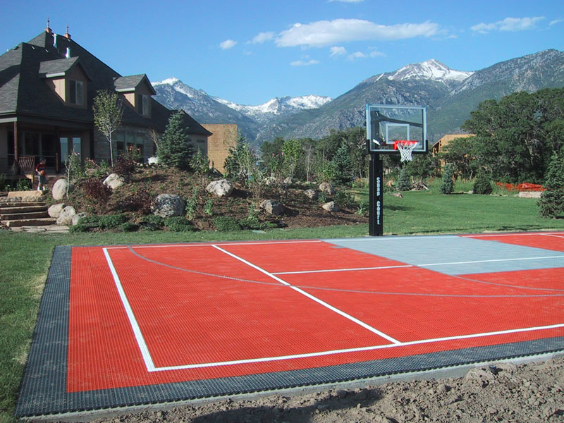 Residential gallery snapsports of utah blog for Sport court utah